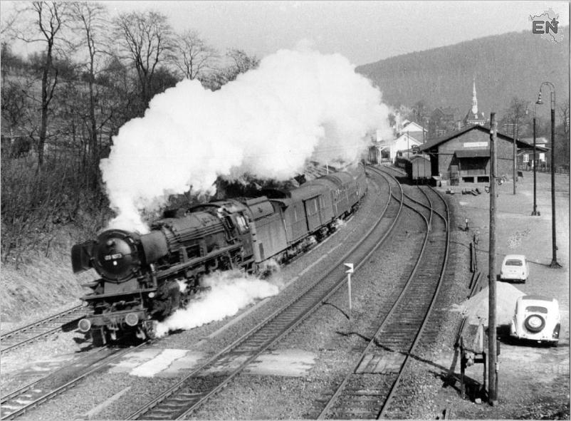 02-Bahnhof Milspe mit 03 1073